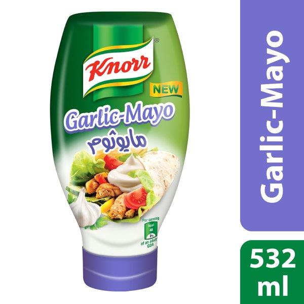 Knorr Mayogarlic, 532ml