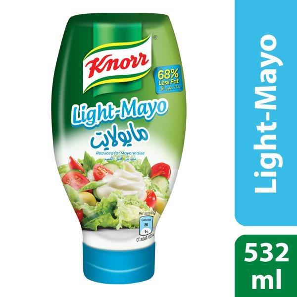 Knorr Light Mayonnaise, 532ml