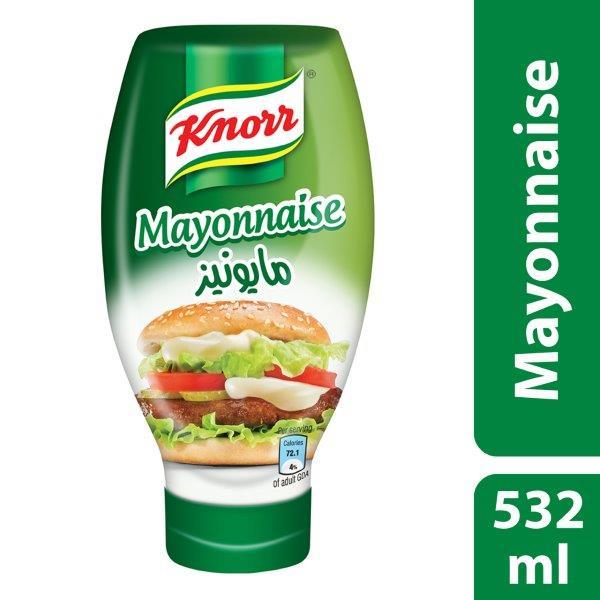 Knorr Mayonnaise, 532ml