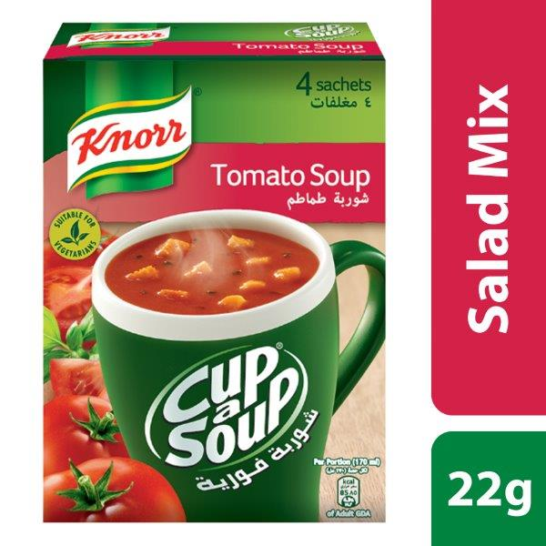 Knorr Cup-A-Soup Cream of Tomato, 22g