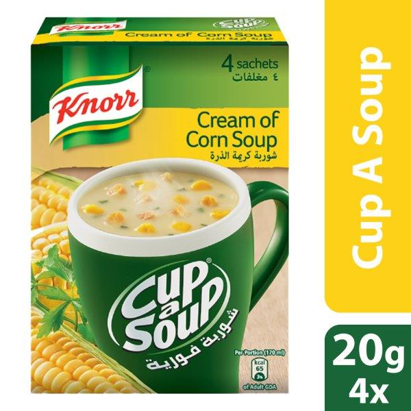 Knorr Cup-A-Soup Cream of Corn, 20g