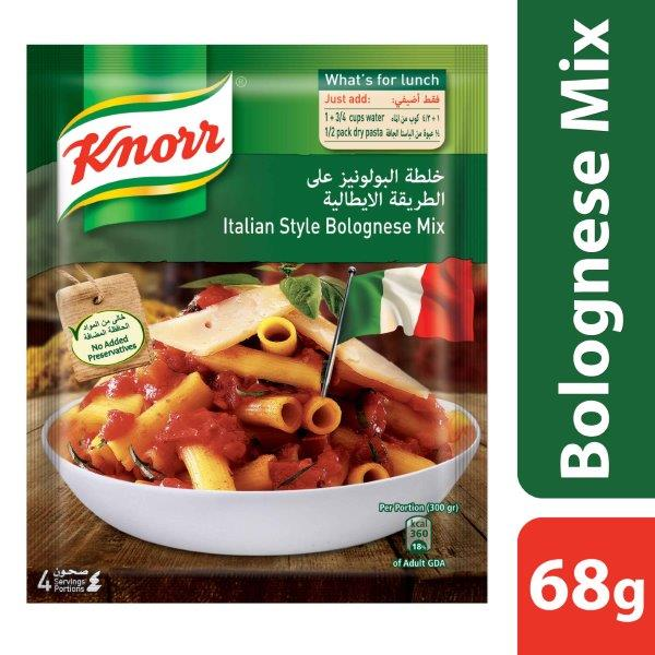Knorr Bolognese Mix, 68G
