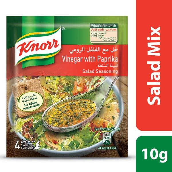 Knorr Salad Mixes Vinegar & Paprika, 10g