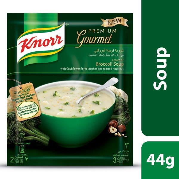 Knorr Soup Cream Broccoli & Cauliflower, 44G