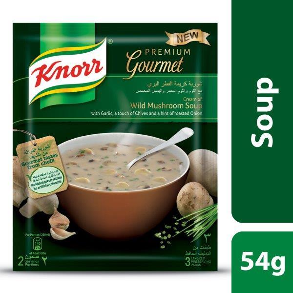 Knorr Soup Cream Wild Mushroom, 54G