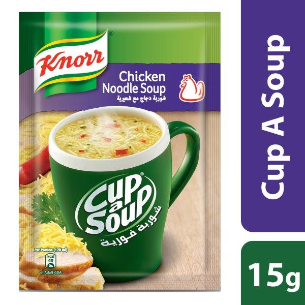 Knorr Cup-A-Soup Chicken Noodle, 15g