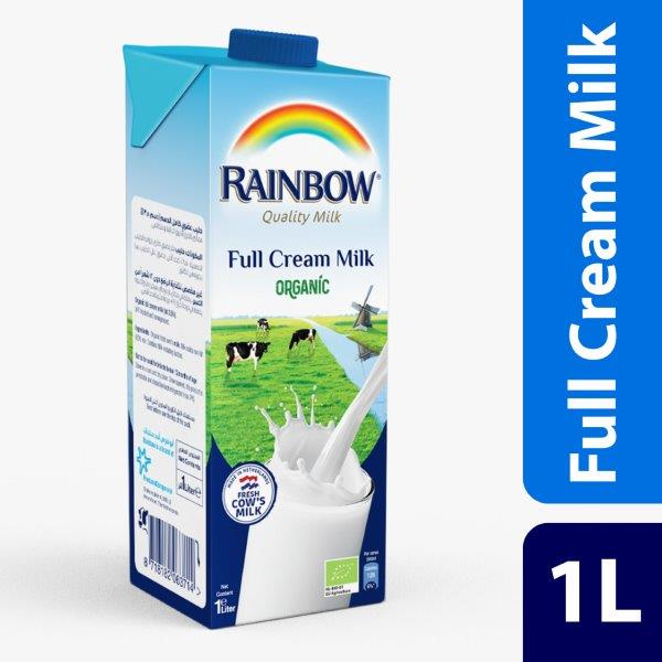 RAINBOW RTD ORGANIC FULL CREAM 1L Netherlands