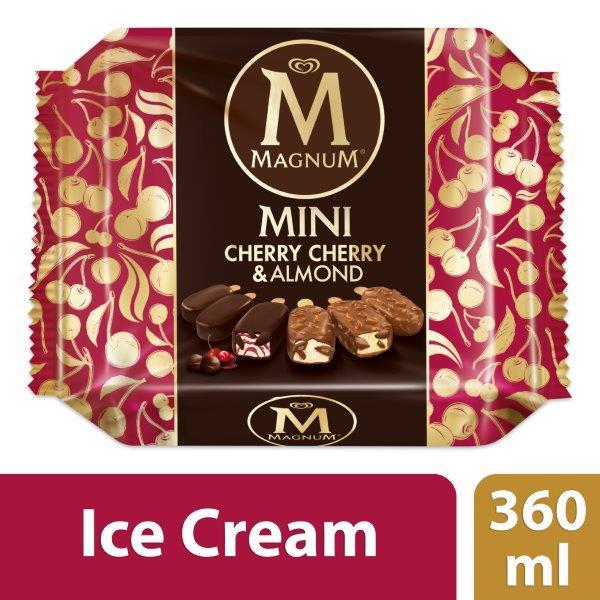 Magnum Cherry Cherry & Almond Mini, 360ml