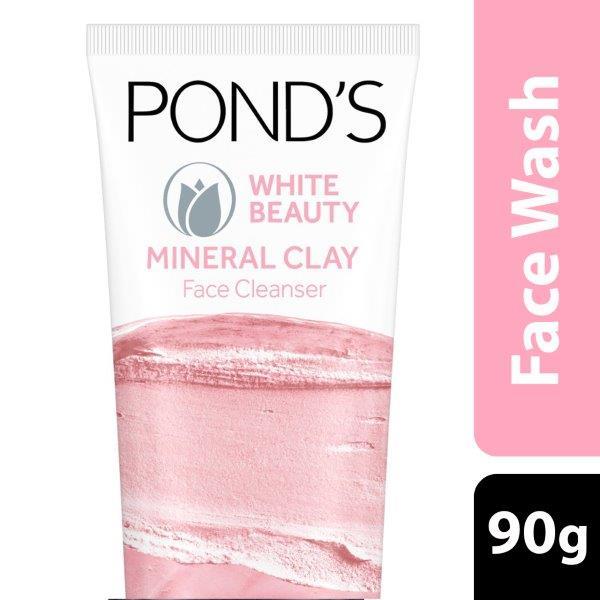 Ponds  Face Wash  White Beauty Clay Foam 90gr