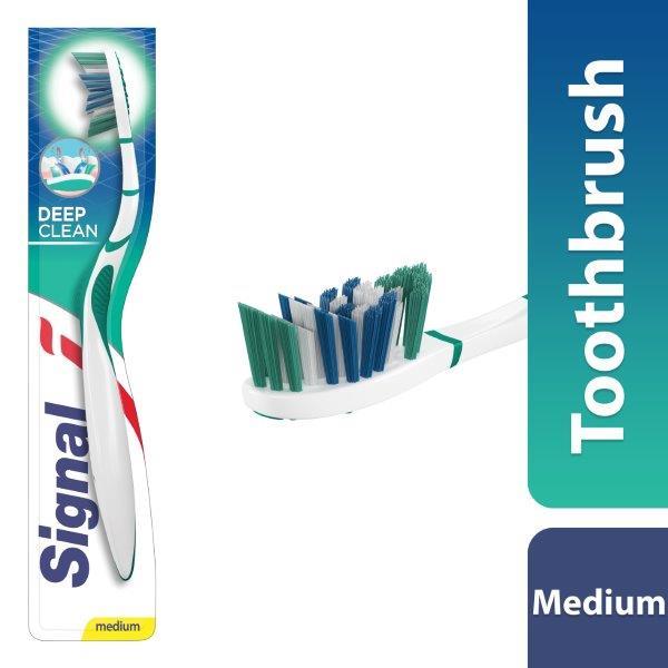 Signal Toothbrush Deep Cleaning V-Bristles Medium