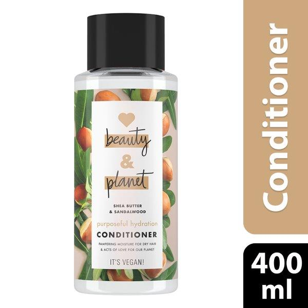 Love Beauty and Planet Conditioner Purposeful Hydration Shea Butter & Sandalwood, 400ml