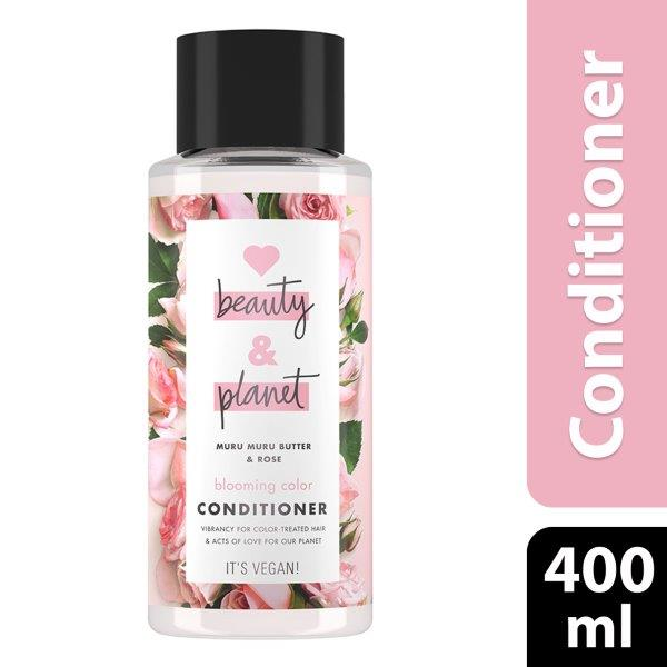 Love Beauty and Planet Conditioner Blooming Color Murumuru Butter & Rose, 400ml