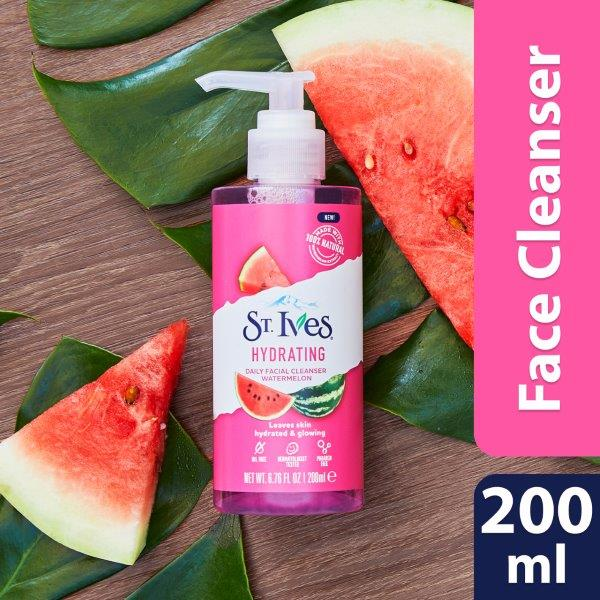 ST.IVES  FACE CLEANSER 200ML HYDRATING