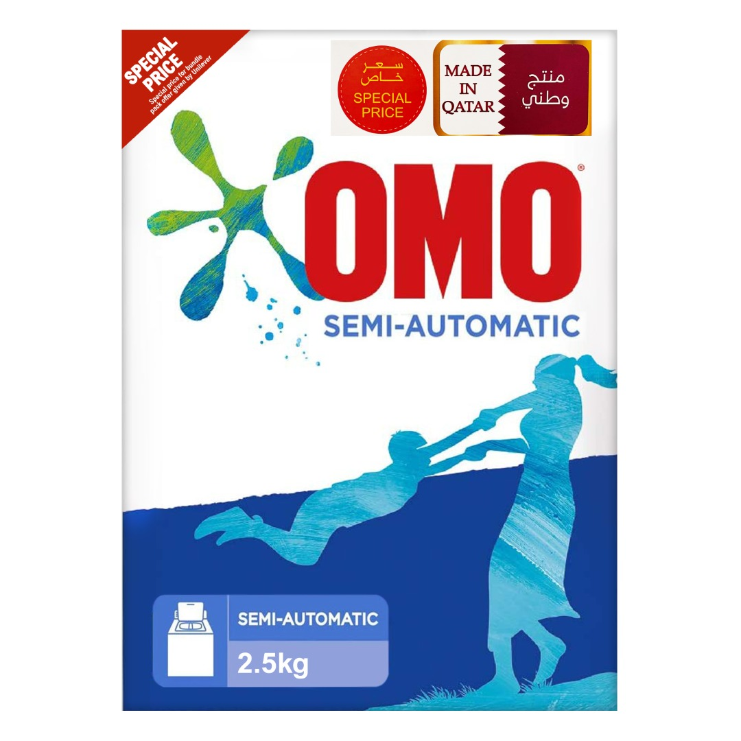 OMO POWDER 2.5KG TOP LOAD TP @SPECIAL PRICE