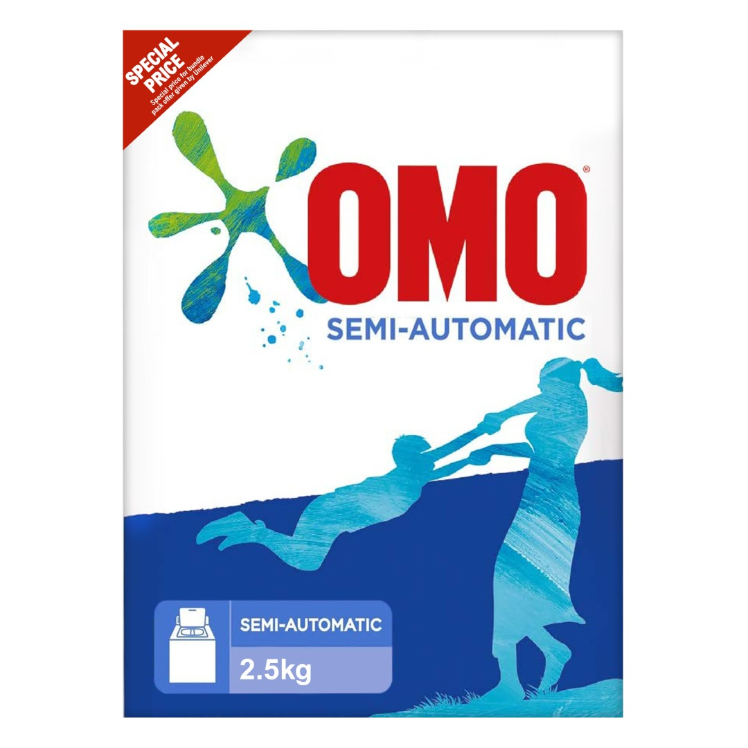 OMO POWDER 2.5KG TOP LOAD @SPECIAL PRICE