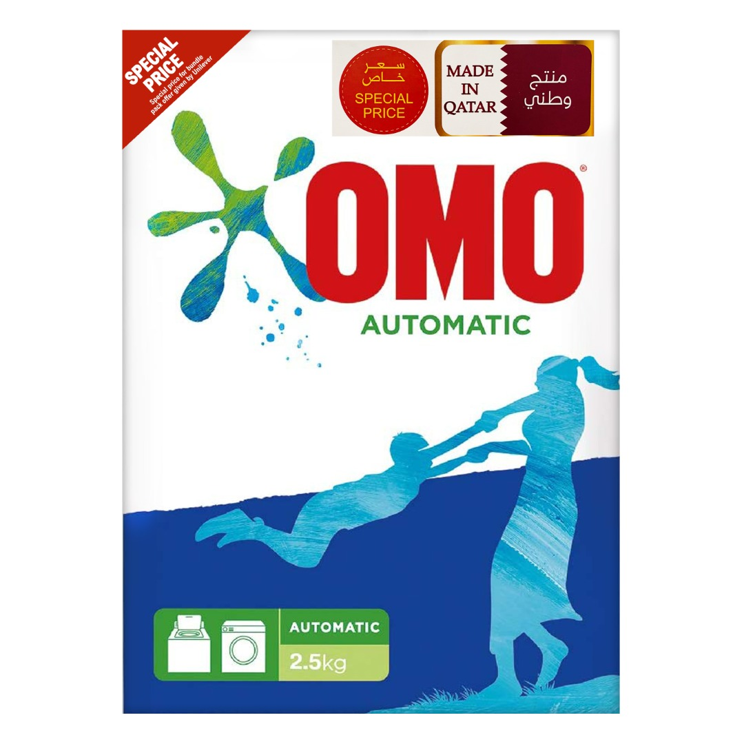 OMO POWDER 2.5KG FRONT LOAD TP @SPECIAL PRICE