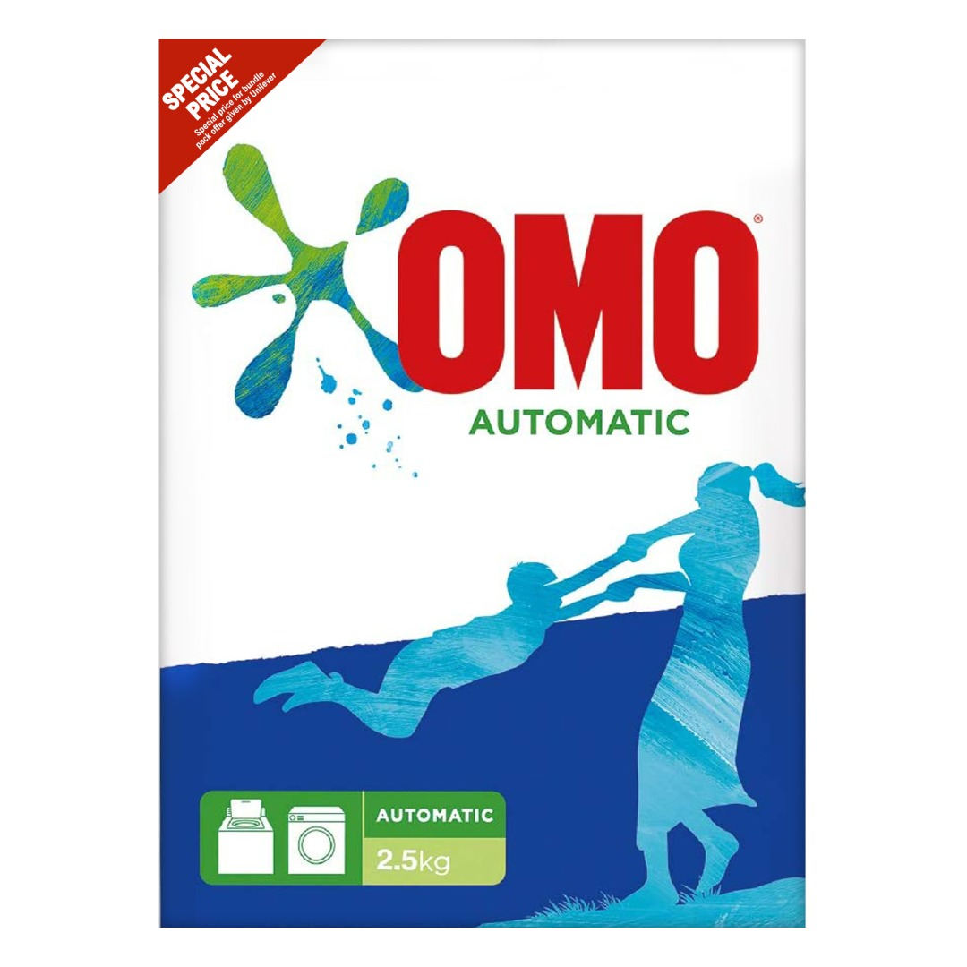 OMO POWDER 2.5KG FRONT LOAD @SPECIAL PRICE