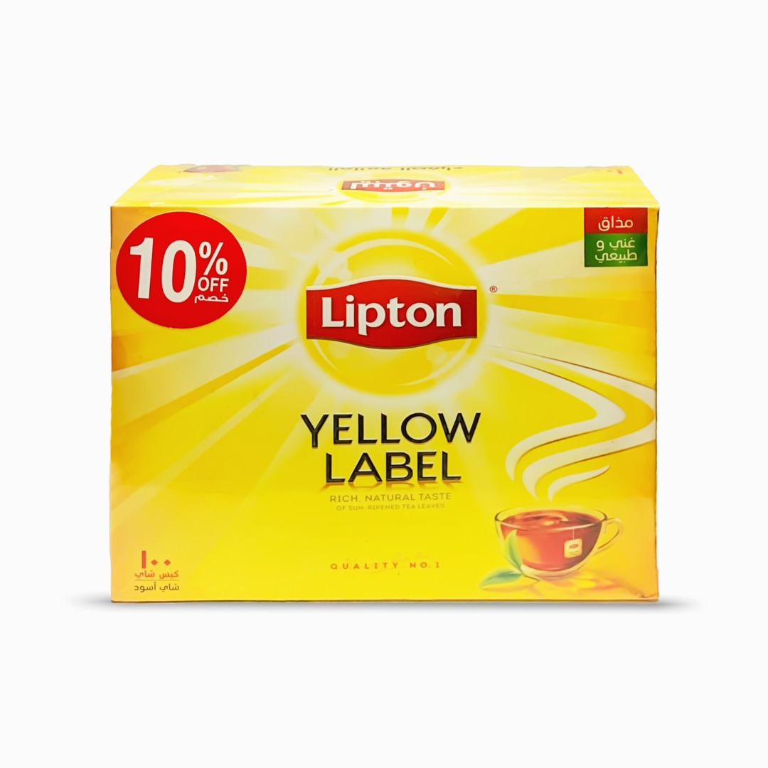 LIPTON 2G YLTB 100'S @10% OFF FRESH