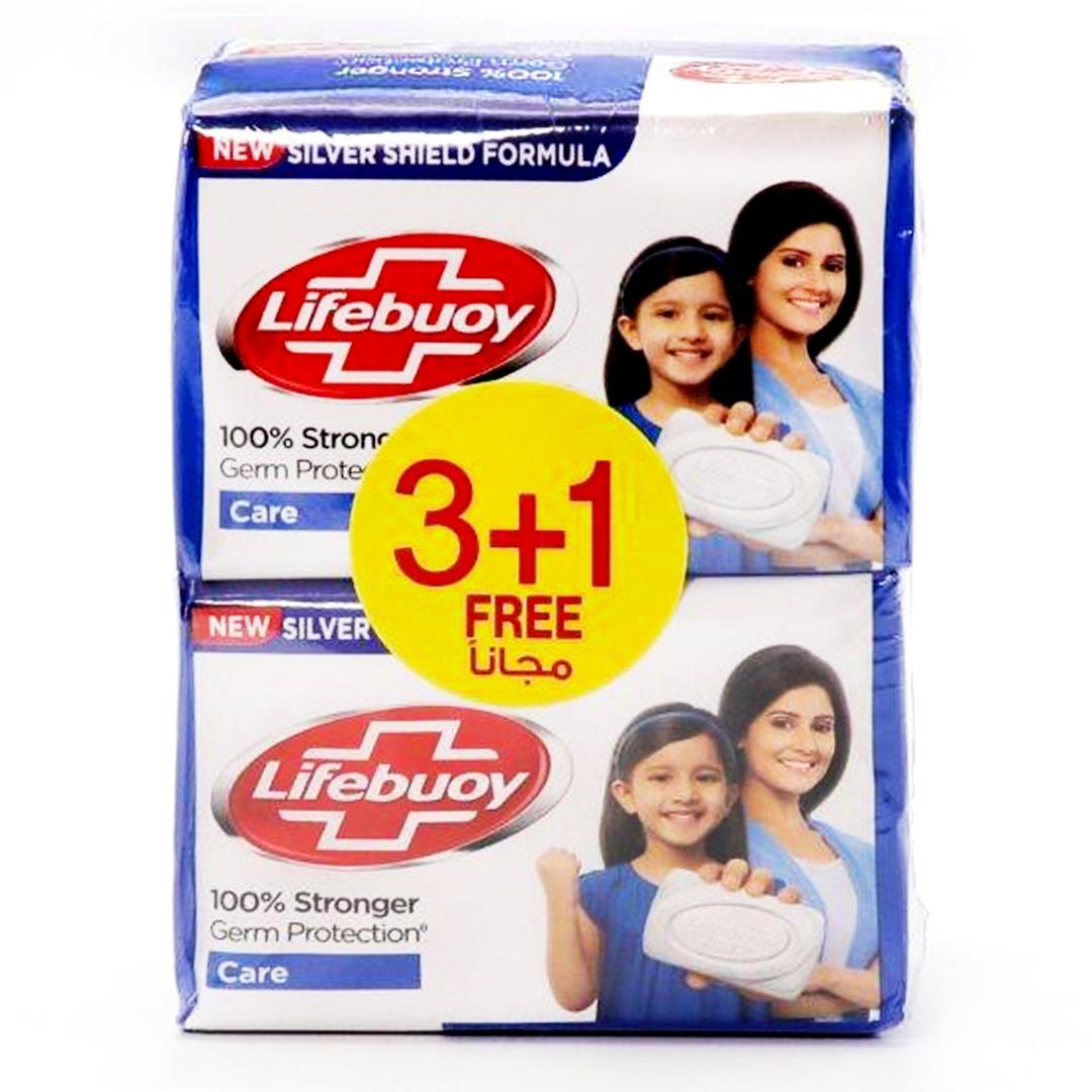 LIFEBUOY SOAP 125G CARE 3+1 FREE