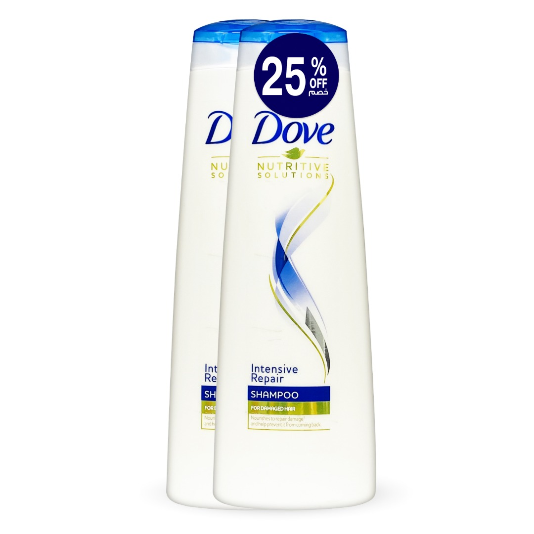 DOVE SHAMPOO INTENSIVE REPAIR 400ML TP@25% OFF