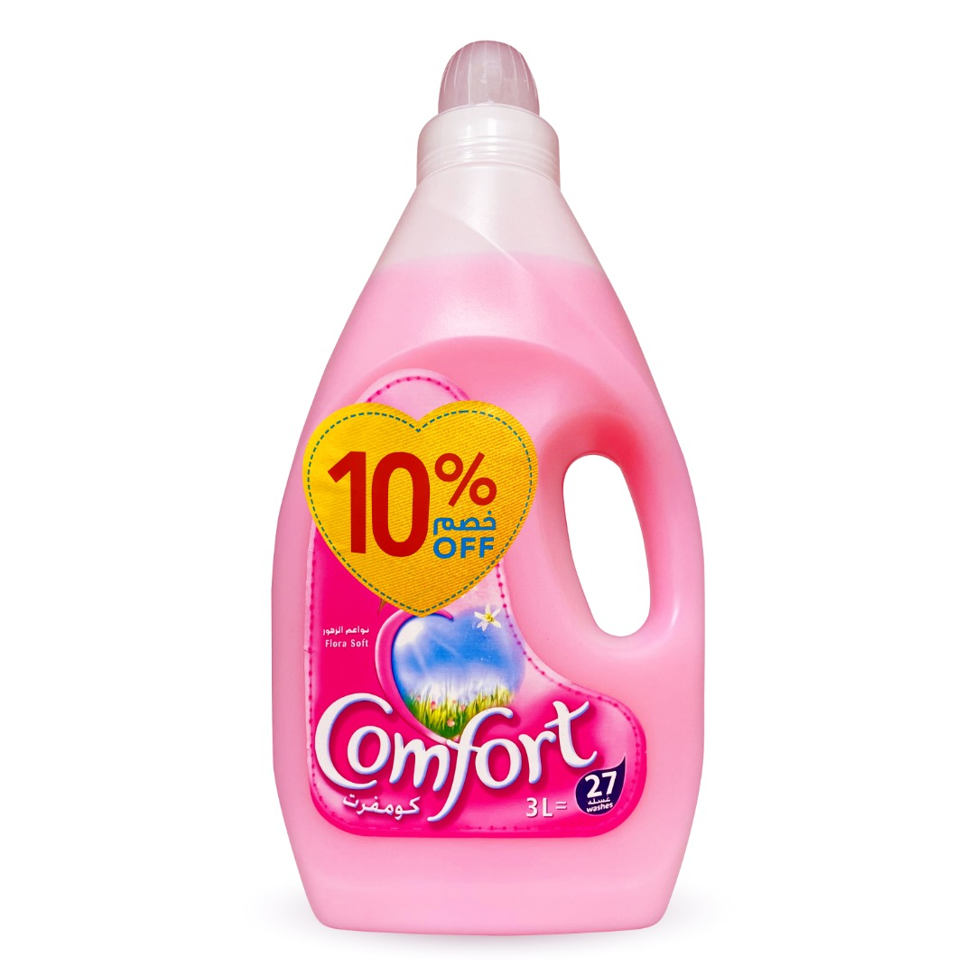 COMFORT DILUTE 3L FLORA SOFT (PINK) @10% OFF