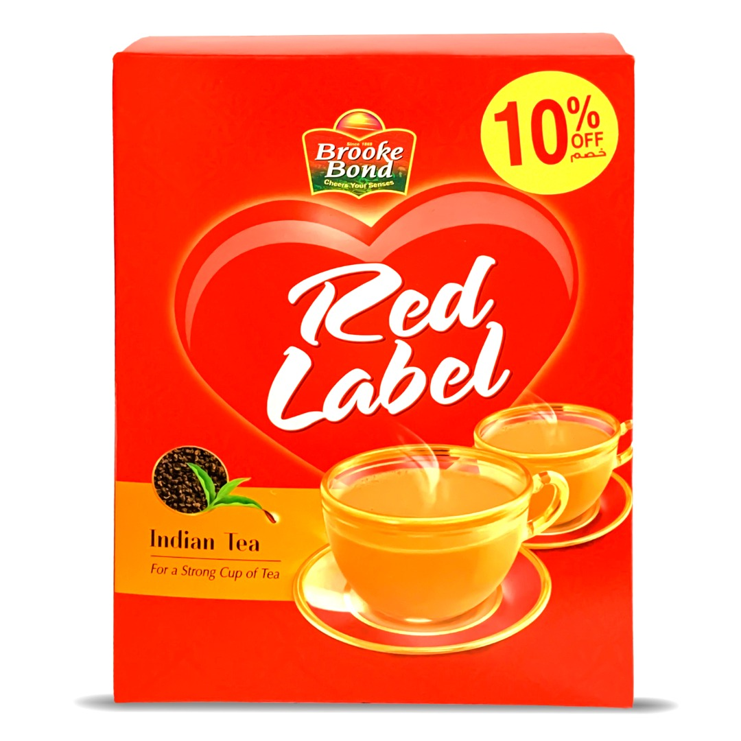 BROOKE BOND RED LABEL TEA PACKET 900G @10% OFF
