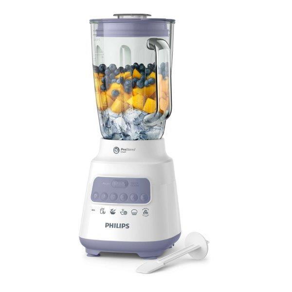 Philips Blender with 5 preset settings With Quick Clean button for fast and easy cleaning of the blender.