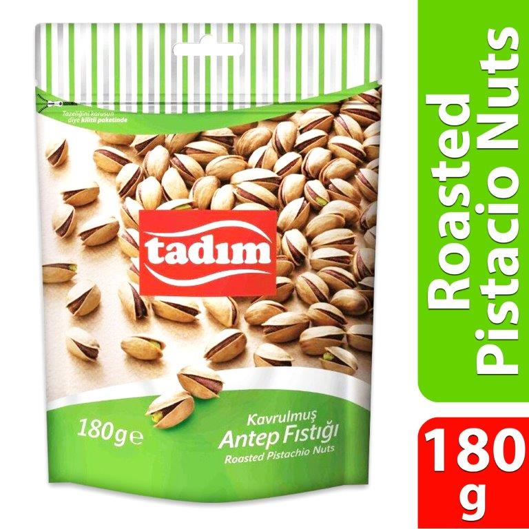 TADIM ROASTED PISTACHIO NUTS 180GMS
