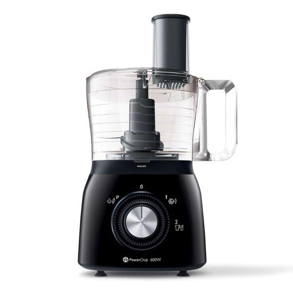 PHILIPS Viva Collection Compact Food Processor,  21 functions, 600W