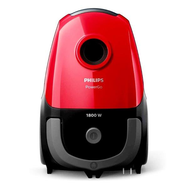 PHILIPS PowerGo Vacuum cleaner,  Bag which delivers 1600 W of cleaning performance,  a multipurpose nozzle; Capacity :3Liter