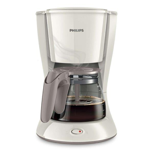 PHILIPS Daily Collection Coffee Maker with LED power switch having 1.2 Liter capacity for 2 - 15 cups