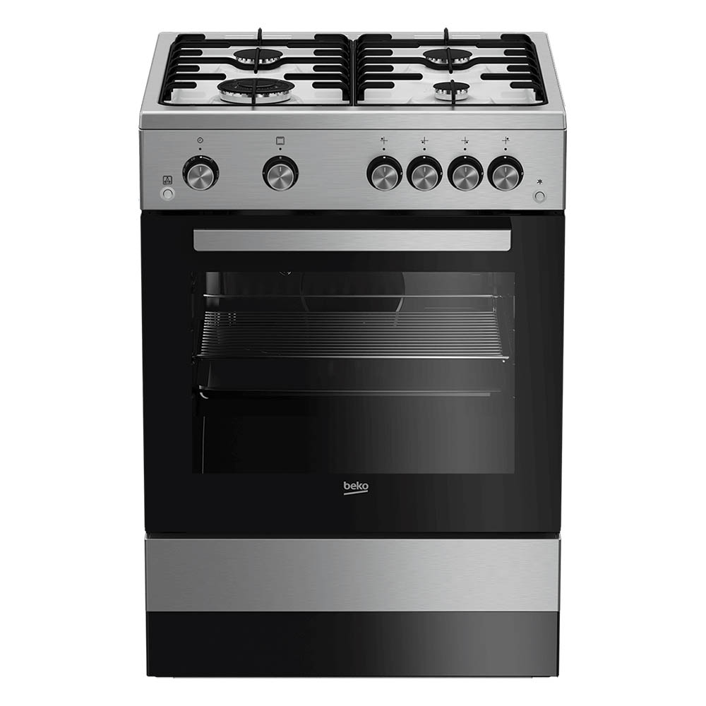 BEKO COOKER 60 CM GAS SILVER Made In Turkey