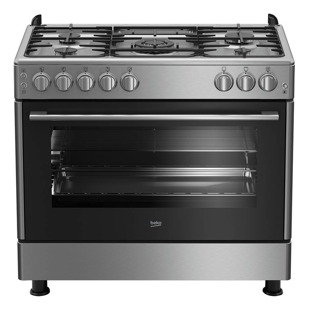 BEKO GAS COOKER 90 x 60 CM STEEL Made In Turkey
