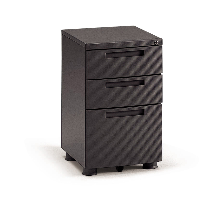 Three Drawer Fixed Pedestal