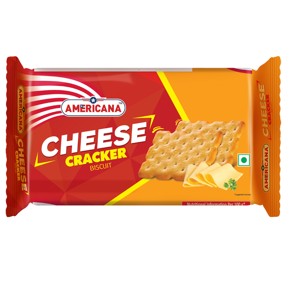 Americana Cheese Cracker 90 g
