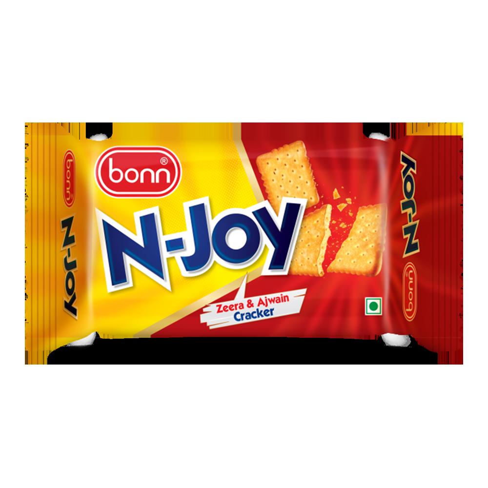 Bonn N-Joy Zeera and Ajwain Cracker 85 g