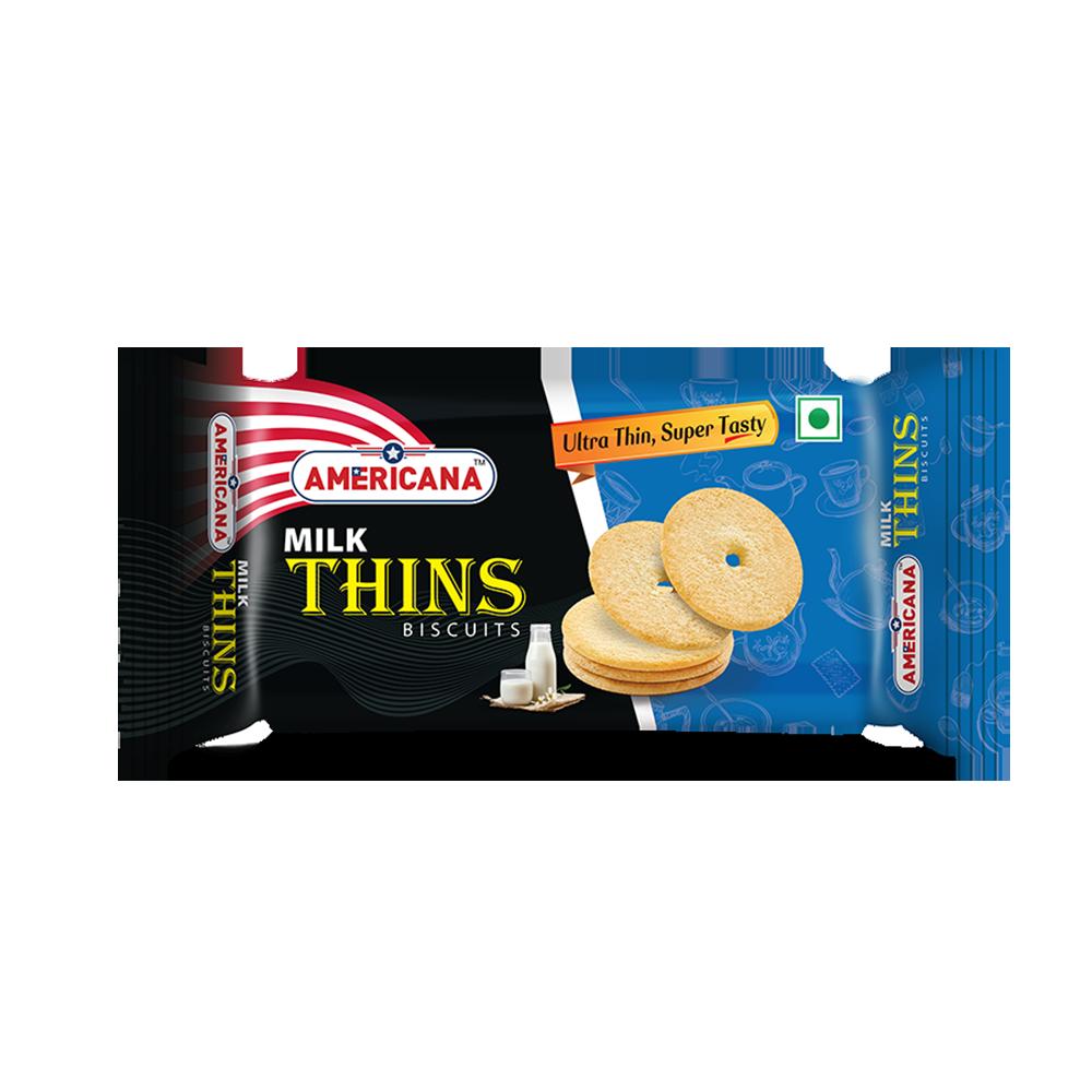 Americana Thins Biscuit Milk