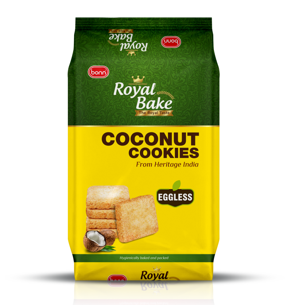 Royal Bake Coconut Cookies by Bonn