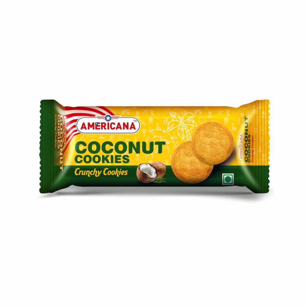 Americana Coconut Cookies, 85 g Pack