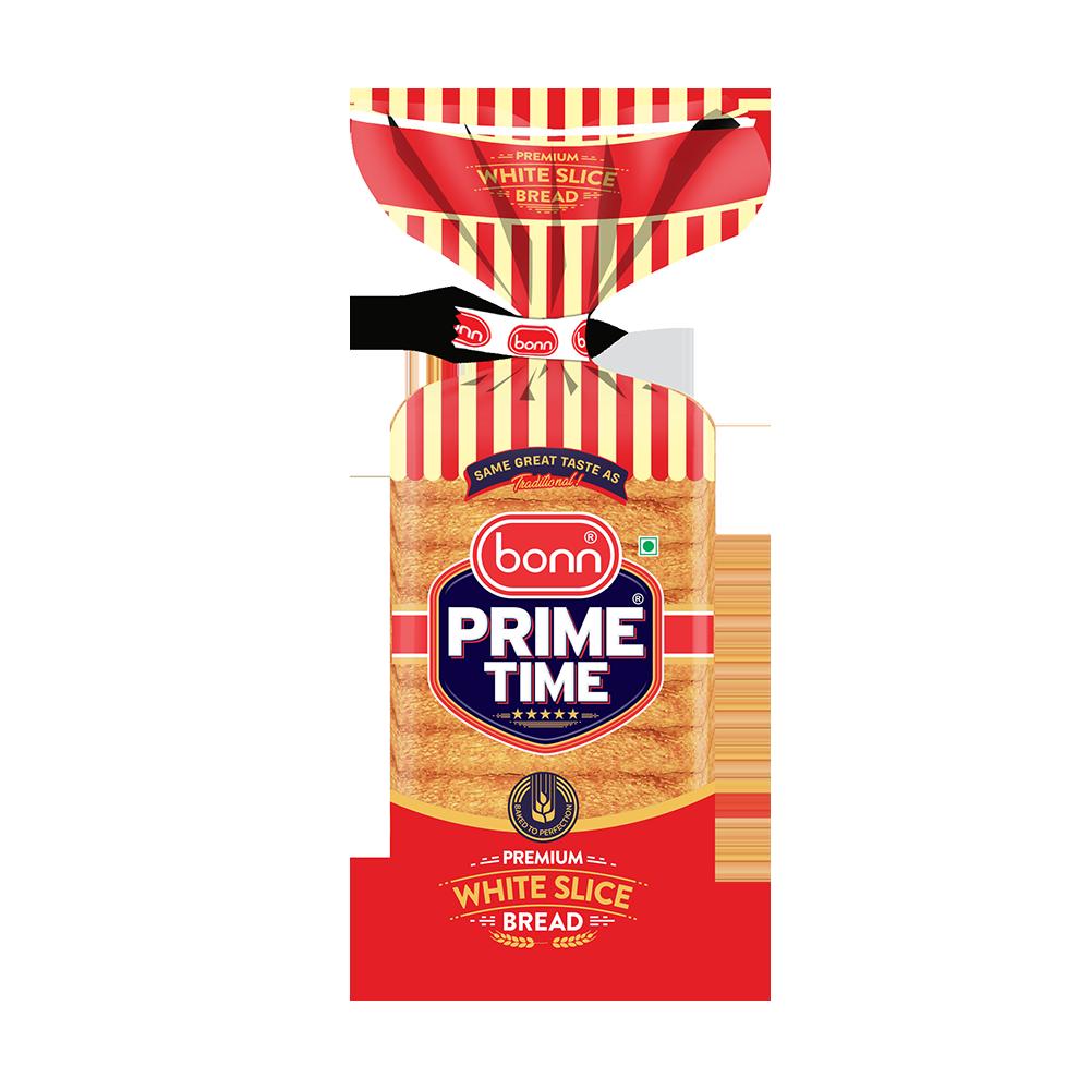 Bonn Prime Time White Slice Bread 450g