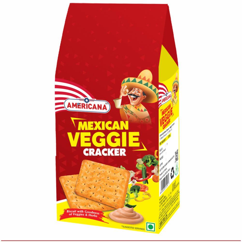 Americana Mexican Veggie Cracker 120 g