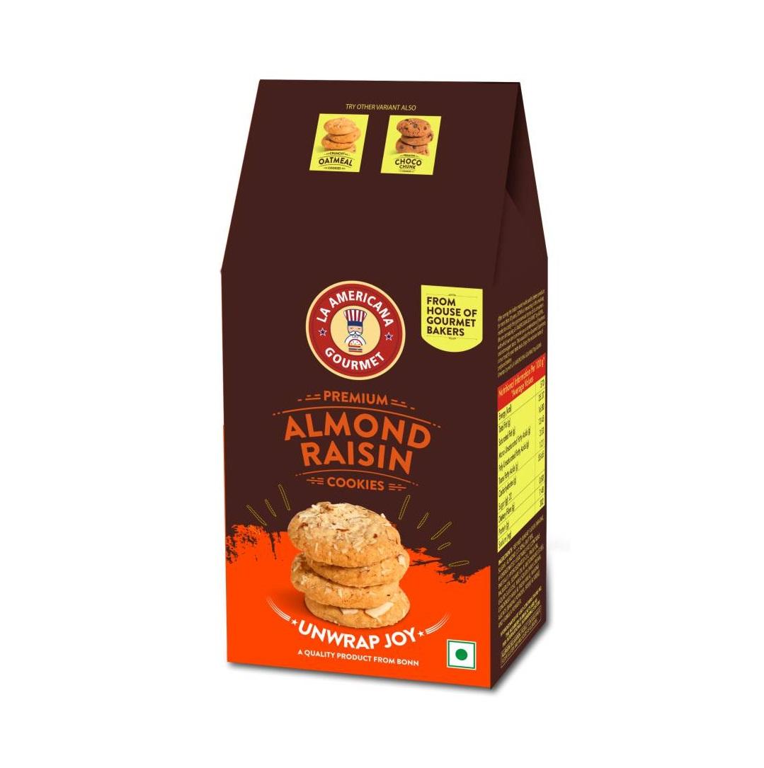 LA Americana Almond Raisin Cookies 100 g Pack