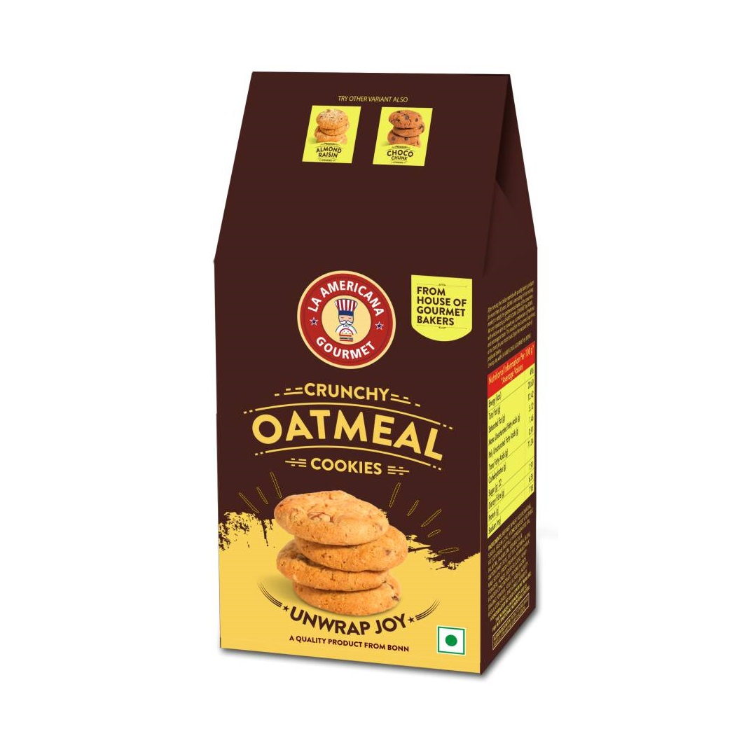 LA Americana Oatmeal Cookies 100 g Pack
