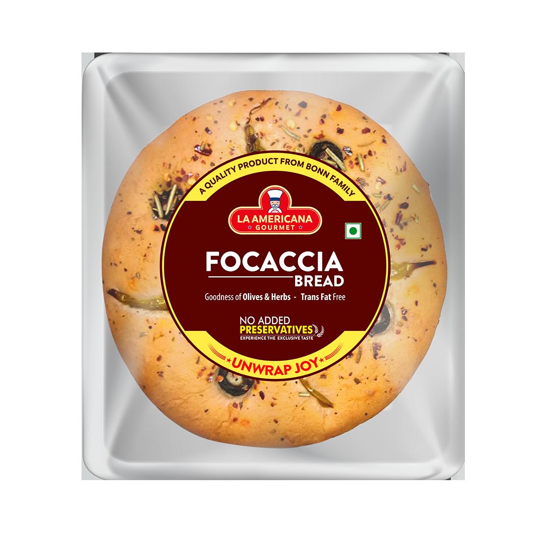 LA Americana Focaccia Bread 100g