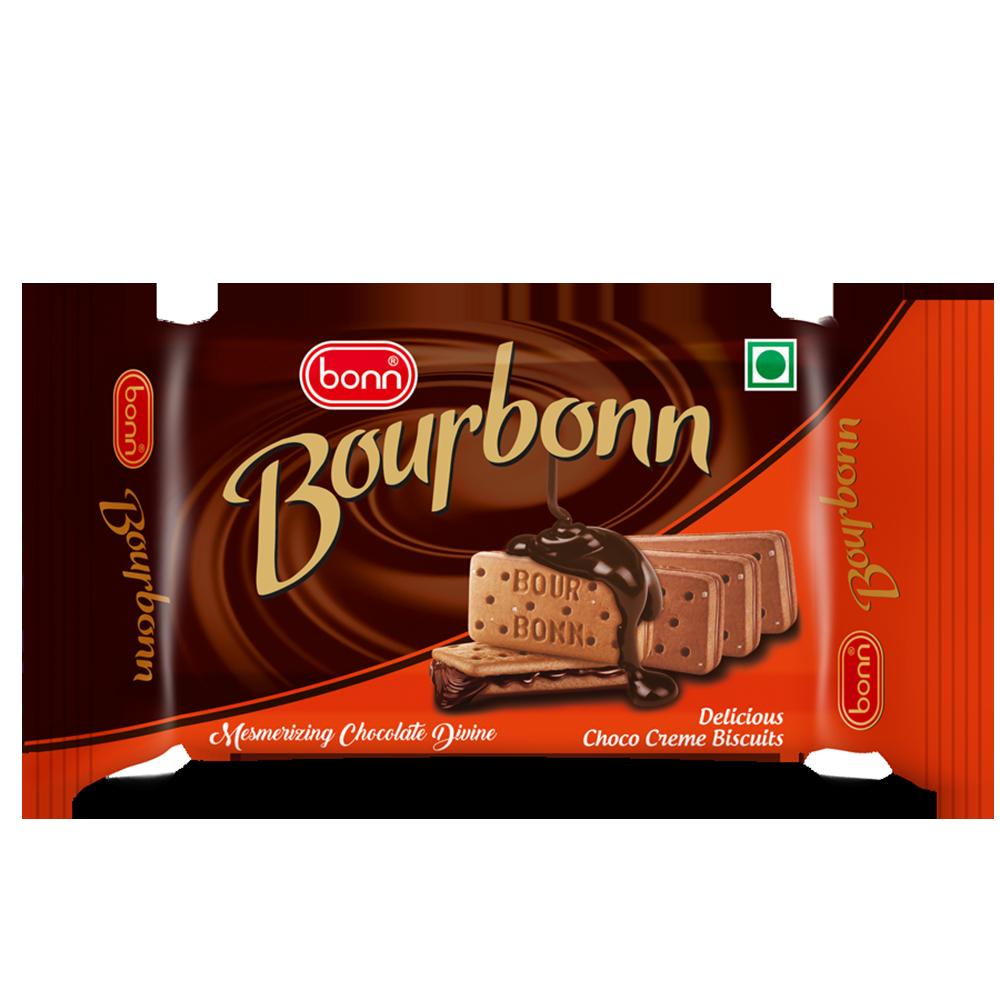 Bonn Bourbonn Cream Biscuits