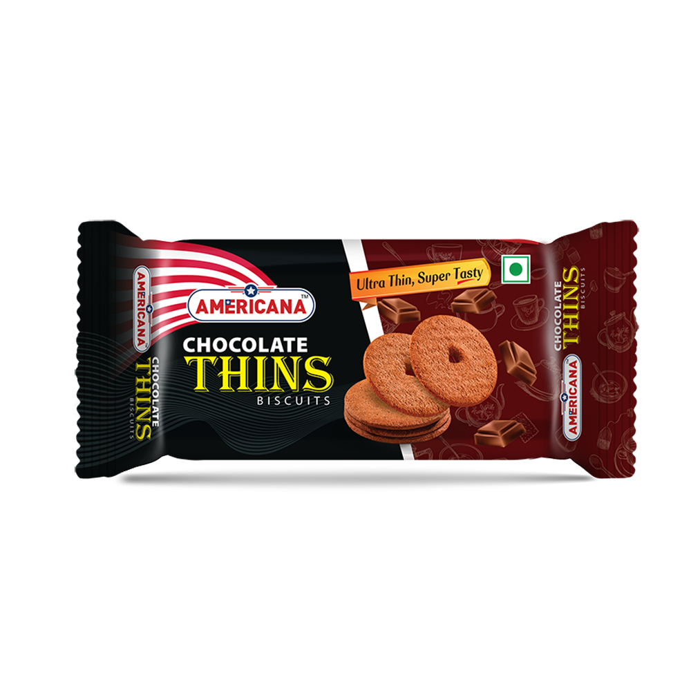 Americana Thins Biscuit Chocolate
