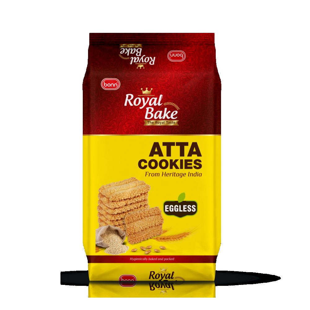 Royal Bake Atta Cookies by Bonn