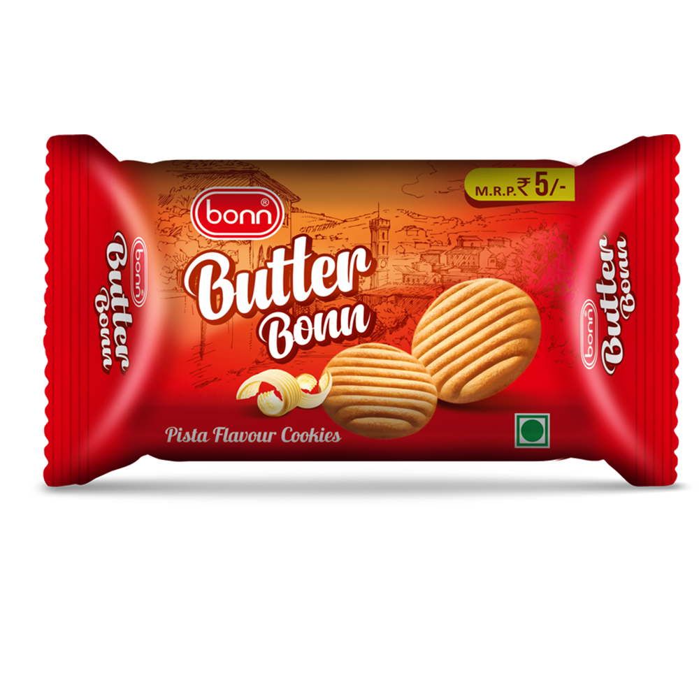 Butter Bonn Pista Cookies