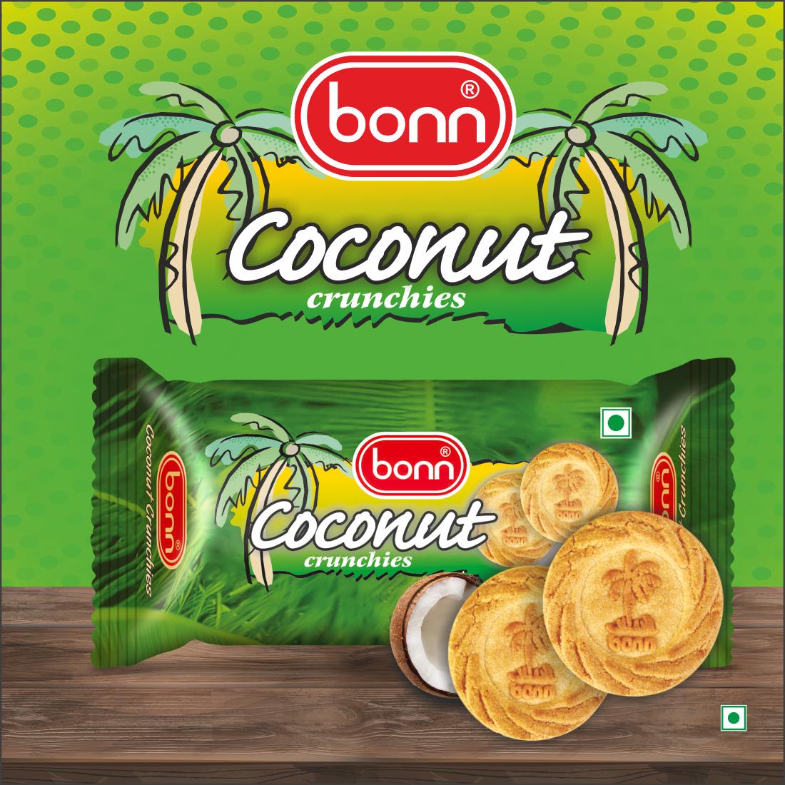 Bonn Coconut Crunch Biscuits, 40 g Pack