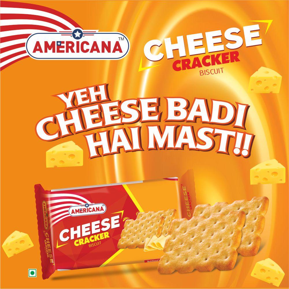 Americana Cheese Cracker 70 g